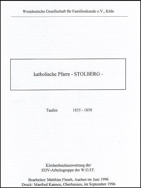 Verkartung Stolberg 2 (St. Lucia, kath.)-Copy