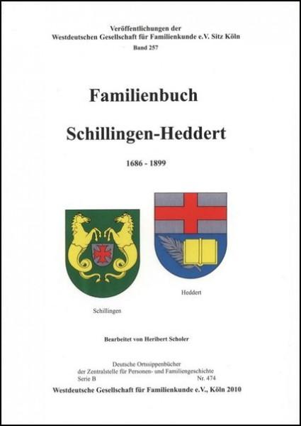Familienbuch Schillingen / Heddert