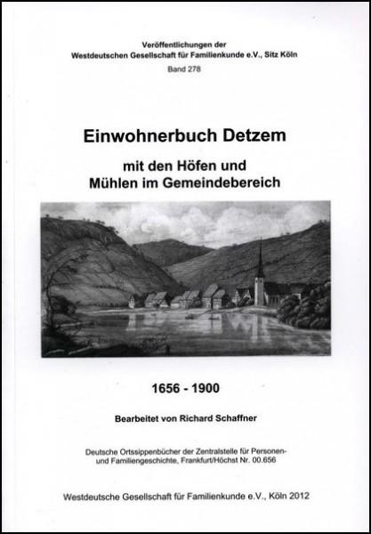 Familienbuch Detzem