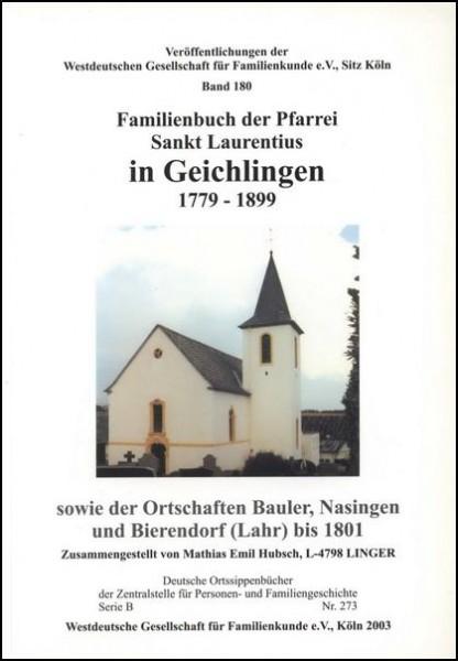 Familienbuch Geichlingen
