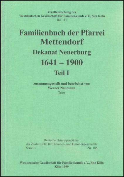 Familienbuch Mettendorf