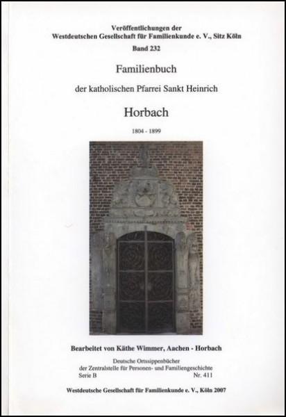 Familienbuch Horbach