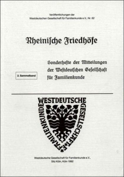 Rheinische Friedhöfe Heft: 6-14
