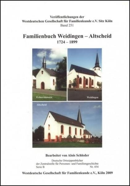 Familienbuch Weidingen - Altscheid