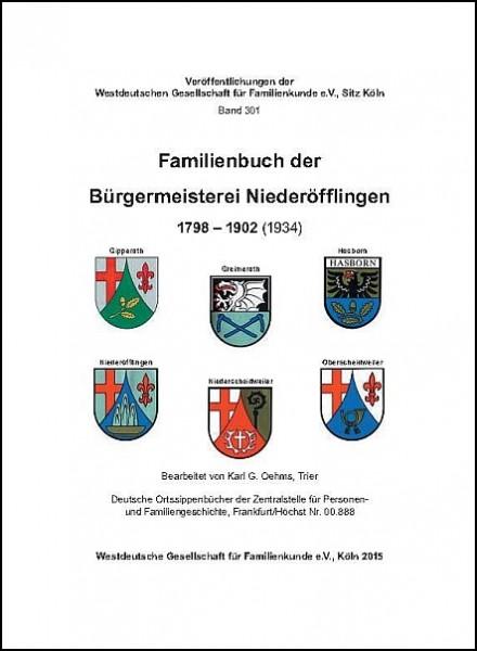 Familienbuch Niederöfflingen
