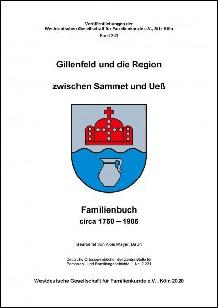 Familienbuch Gillenfeld und die Region zwischen Sammet und Ueß ca.1750-1905